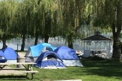 Tenting sites